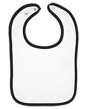 Hillsdale Year Round School Pandas Infant Terry Snap Bib