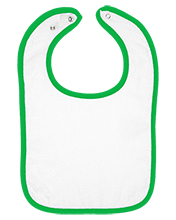 Dewey Elementary School Dragons Infant Terry Snap Bib