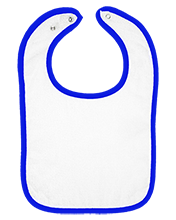 Pierce Public High School Bluejays Infant Terry Snap Bib
