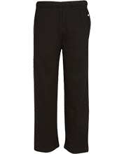 Lowes Island Elementary School Leopards Open Bottom Sweat Pant with Pockets