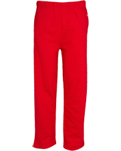 Hoke County High School Bucks Open Bottom Sweat Pant with Pockets