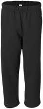 Ball Junior High School School Open Bottom Sweat Pant with Pockets
