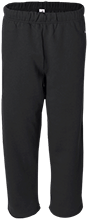 Basketball Open Bottom Sweat Pant with Pockets