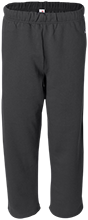 Area Learning Center School Open Bottom Sweat Pant with Pockets