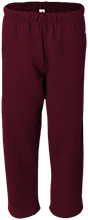 Owsley County High School Owls Open Bottom Sweat Pant with Pockets