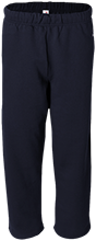 Maranatha Baptist Bible College Crusaders Open Bottom Sweat Pant with Pockets
