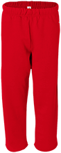 Hazleton Area High School Cougars Open Bottom Sweat Pant with Pockets