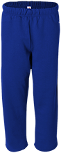 Sebring Middle School Sebring Blue Streaks Open Bottom Sweat Pant with Pockets