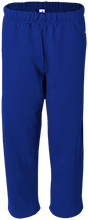 Blue Mountain Union School Bmu Bucks Open Bottom Sweat Pant with Pockets