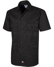 Topeka High School Trojans Dickies Men's Short Sleeve Workshirt