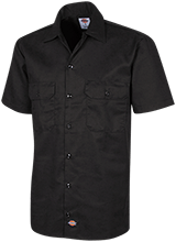 Shoals High School Jug Rox Dickies Men's Short Sleeve Workshirt
