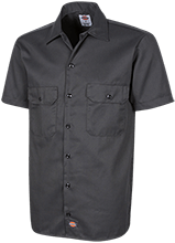 Islesboro Eagles Athletics Dickies Men's Short Sleeve Workshirt