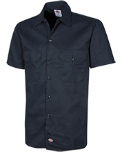 Yarmouth High School Clippers Dickies Men's Short Sleeve Workshirt