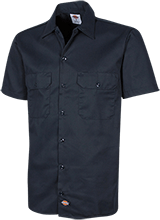 Del Val Wrestling Wrestling Dickies Men's Short Sleeve Workshirt
