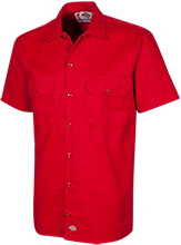 Ezekiel Academy Knights Dickies Men's Short Sleeve Workshirt