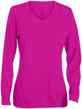 School Ladies Long Sleeve Wicking T-Shirt