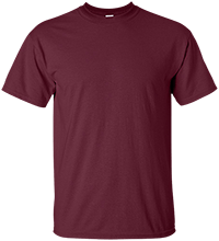 Custom Company Logo Custom Adult Ultra Cotton T-Shirt