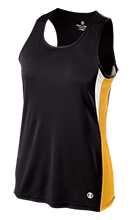 Homer Junior High School Mustangs Ladies' Training Singlet