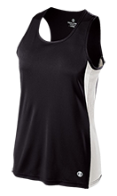 Edwardsville High School Tigers Ladies' Training Singlet