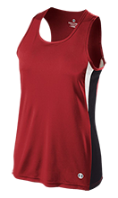 East Valley High School Red Devils Ladies' Training Singlet