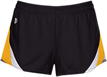 Prairie Grove Elementary School Tigers Ladies Polyester Athletic Short