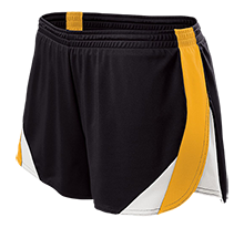 Homer Junior High School Mustangs Ladies Polyester Athletic Short