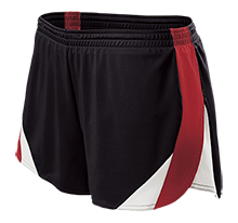 Coquille High School Red Devils Ladies Polyester Athletic Short