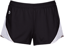 Poynette High School Pumas Ladies Polyester Athletic Short