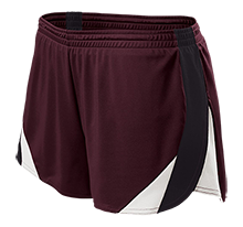 Tiverton High School Tigers Ladies Polyester Athletic Short