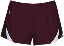 Eclectic Middle School Panthers Ladies Polyester Athletic Short