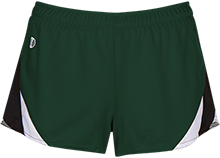 Chief Charlo School Wolves Ladies Polyester Athletic Short