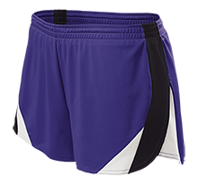 Rumson-Fair Haven H S Bulldogs Ladies' Polyester Athletic Short