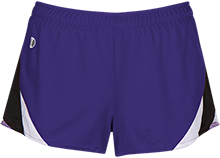 George Washington Elementary School Warriors Ladies Polyester Athletic Short