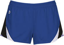 Main Road Elementary School Mustangs Ladies Polyester Athletic Short