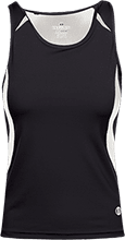 Dwight D. Eisenhower Middle School School Ladies Custom Fitted Singlet