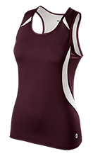 Academy Of The Americas School Ladies Custom Fitted Singlet