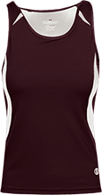 Harris Intermediate School Huskies Ladies Custom Fitted Singlet