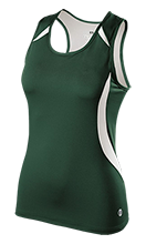 Thayer High School Bobcats Ladies Custom Fitted Singlet