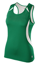 Homer Junior High School Mustangs Ladies Custom Fitted Singlet