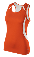 Edwardsville High School Tigers Ladies Custom Fitted Singlet