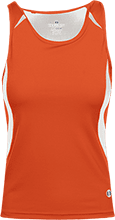 Poynette High School Pumas Ladies Custom Fitted Singlet