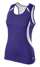 Duanesburg Central High School Eagles Ladies Custom Fitted Singlet