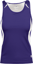 Brownsburg West Middle School Bulldogs Ladies Custom Fitted Singlet