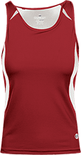 Fairview Elementary School Eagles Ladies Custom Fitted Singlet