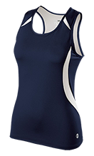 Assets School Admirals Ladies Custom Fitted Singlet