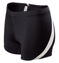 Lincolnview Junior-Senior High School Lancers Ladies Fitted Stretch Short