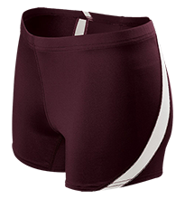 Harris Intermediate School Huskies Ladies Fitted Stretch Short