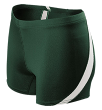 Hopatcong High School Chiefs Ladies Fitted Stretch Short