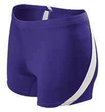 Shamokin Area Junior-Senior High School Indians Ladies Fitted Stretch Short