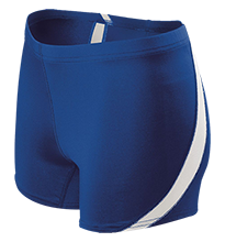 Lewiston High School Blue Devils Ladies Fitted Stretch Short